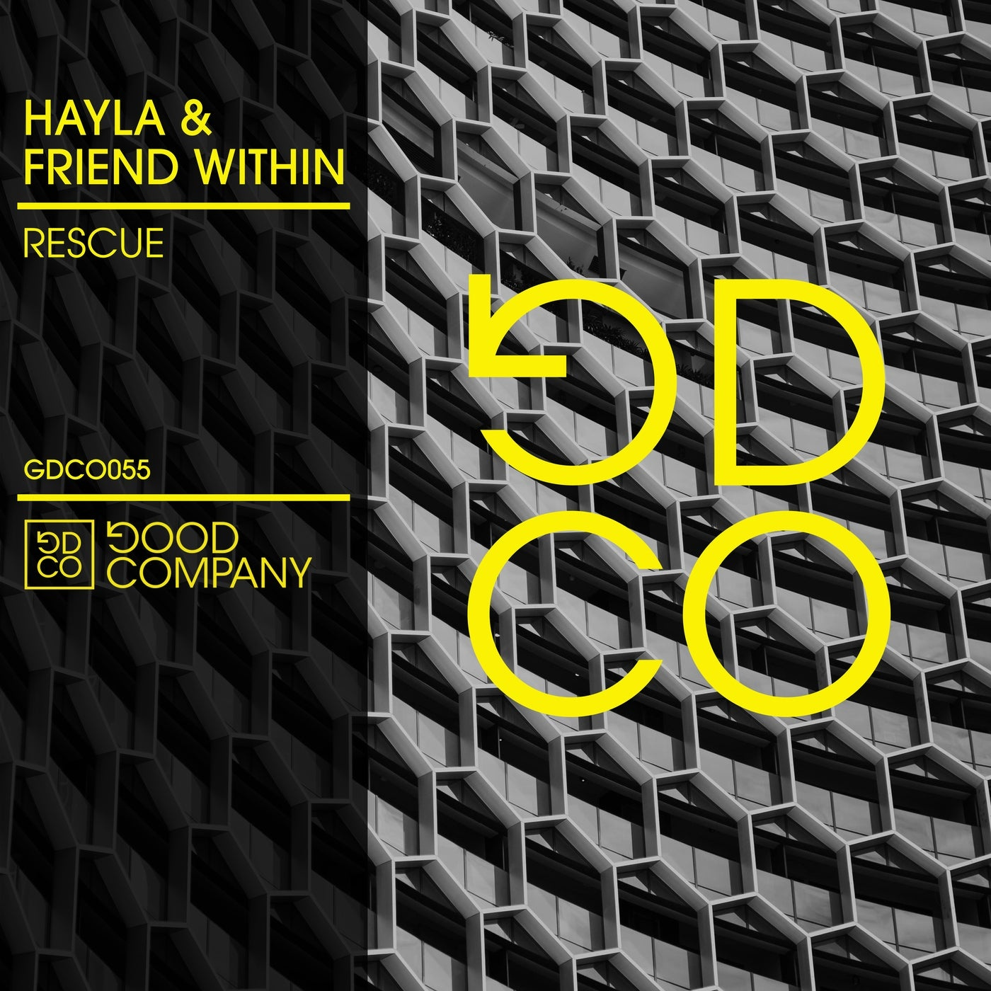 Cover - Friend Within, Hayla - Rescue (Club Mix)