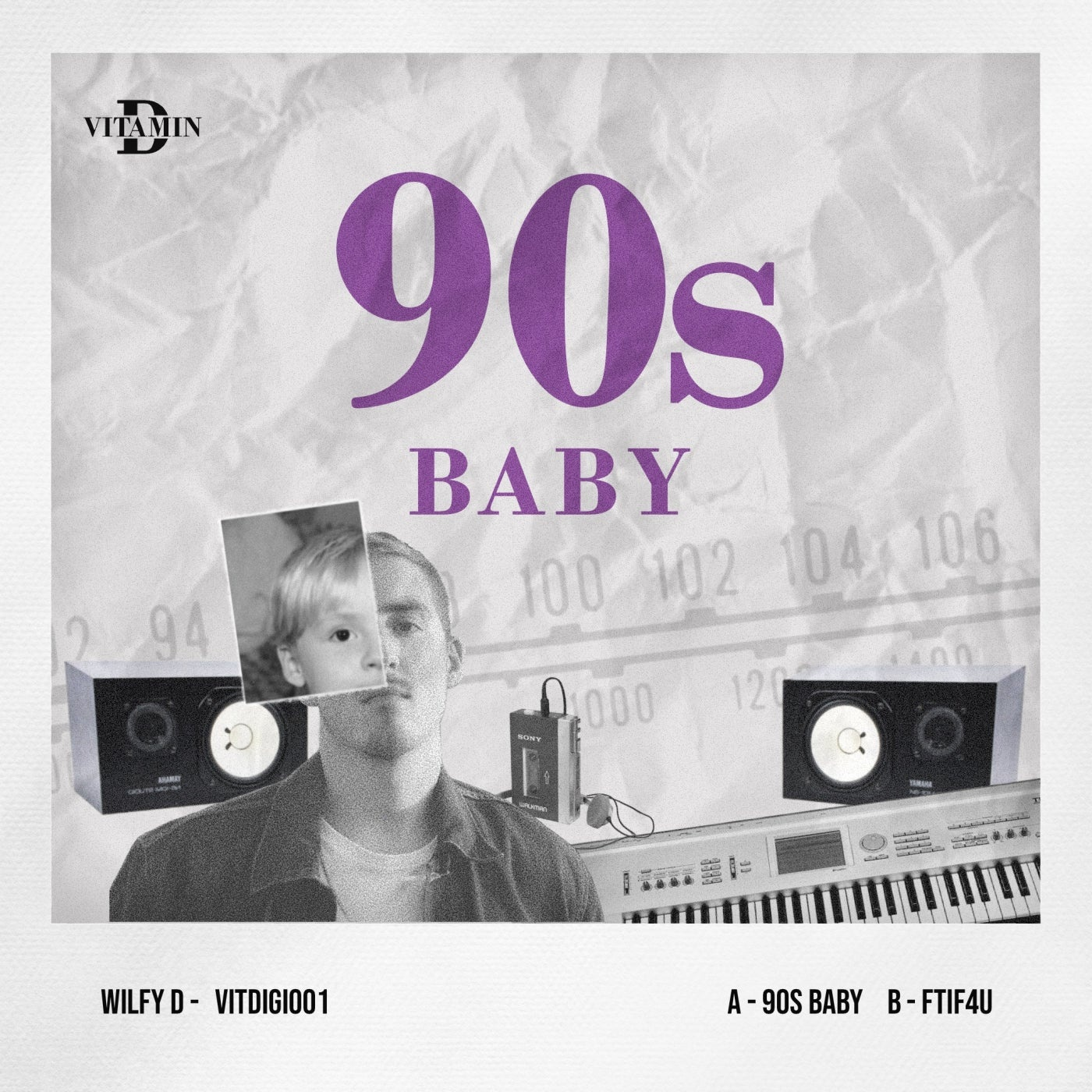 Cover - Wilfy D - 90s Baby (Original Mix)