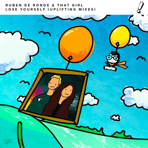 Cover - Ruben De Ronde, That Girl - Lose Yourself (Huem Extended Mix)