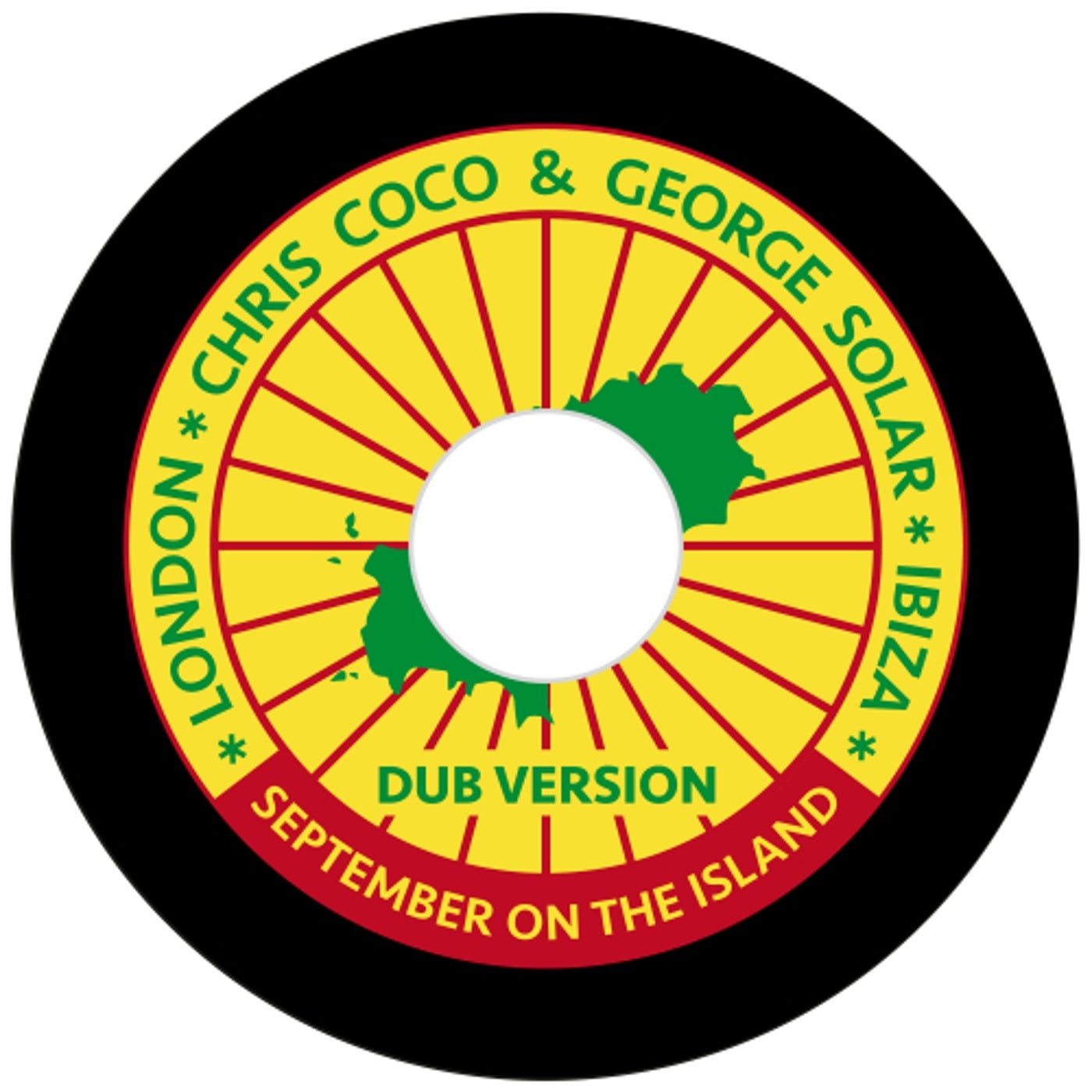 Cover - Chris Coco, George Solar - September On The Island (Dub Version)