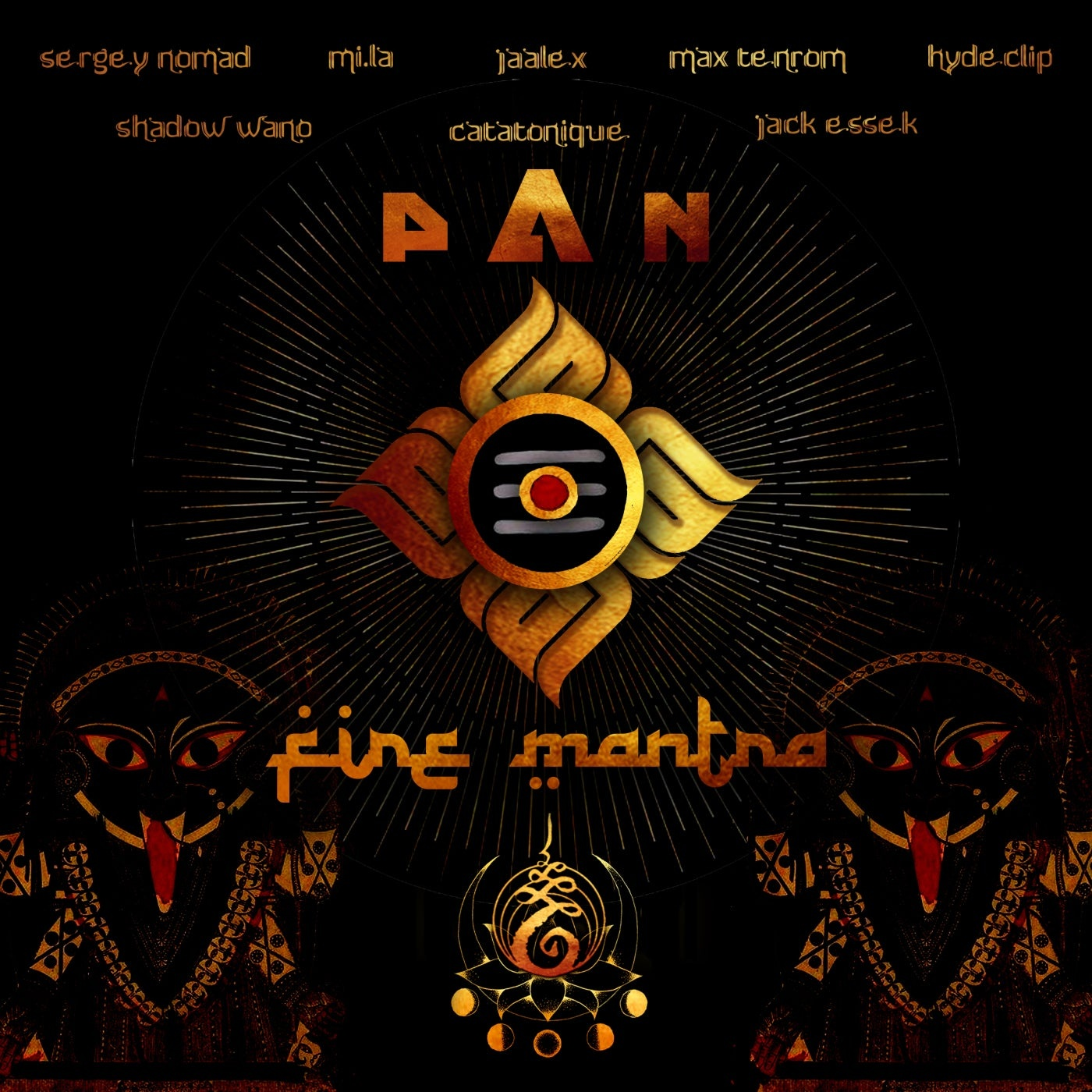 Cover - P A N - Fire Mantra (Jaalex)