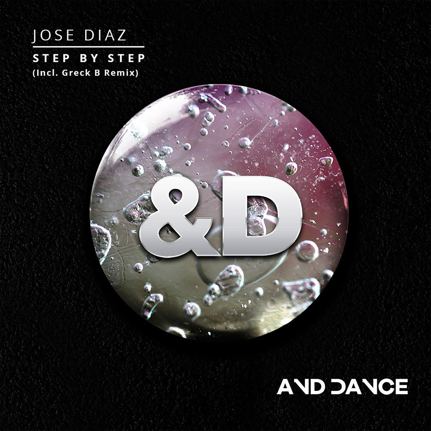 Cover - Jose Diaz - Step by Step (Greck B. Remix)