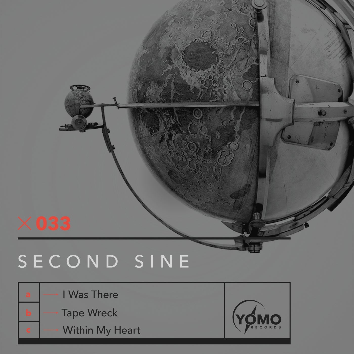 Cover - Second Sine - I Was There (Original Mix)