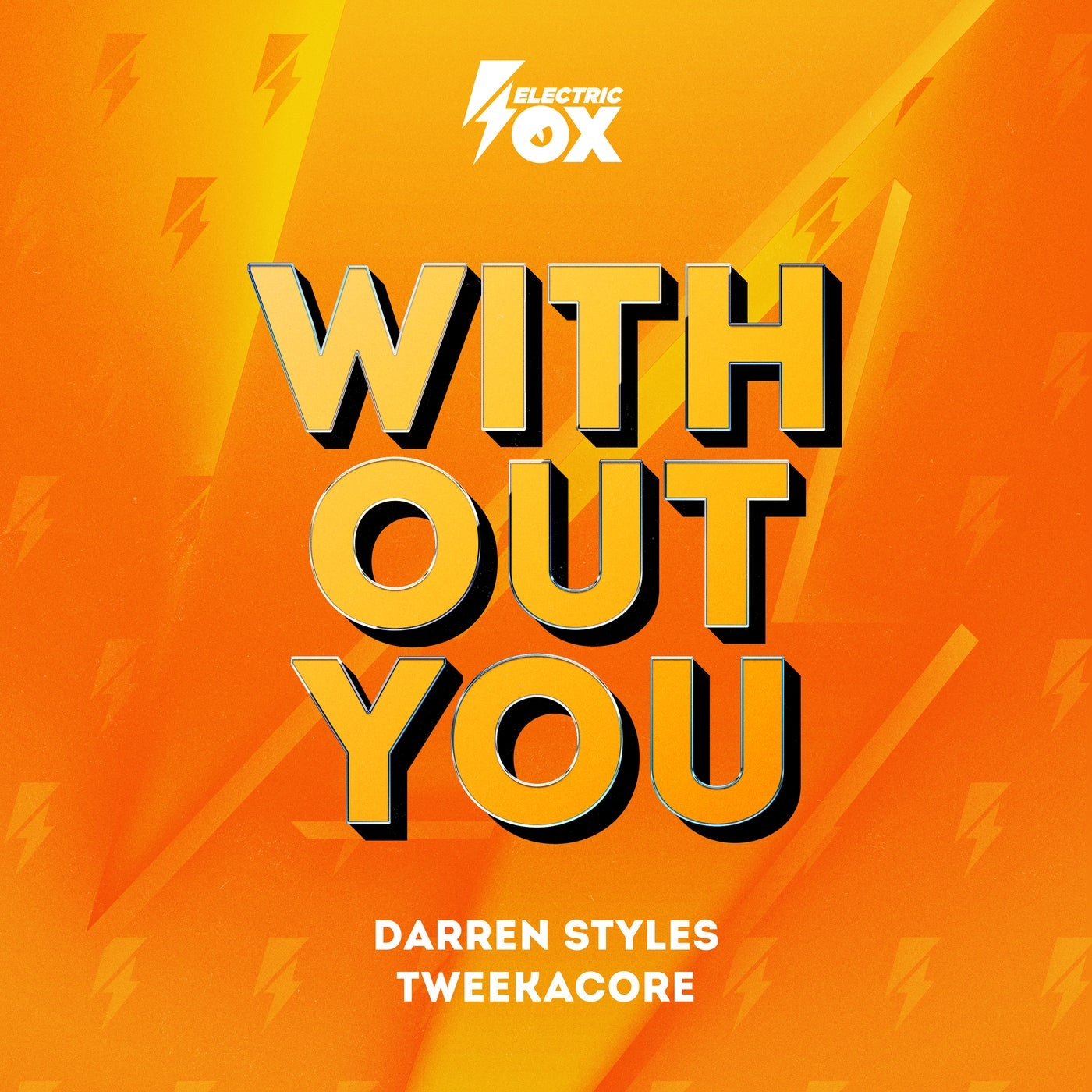 Cover - Darren Styles, Tweekacore - Without You (Extended Mix)
