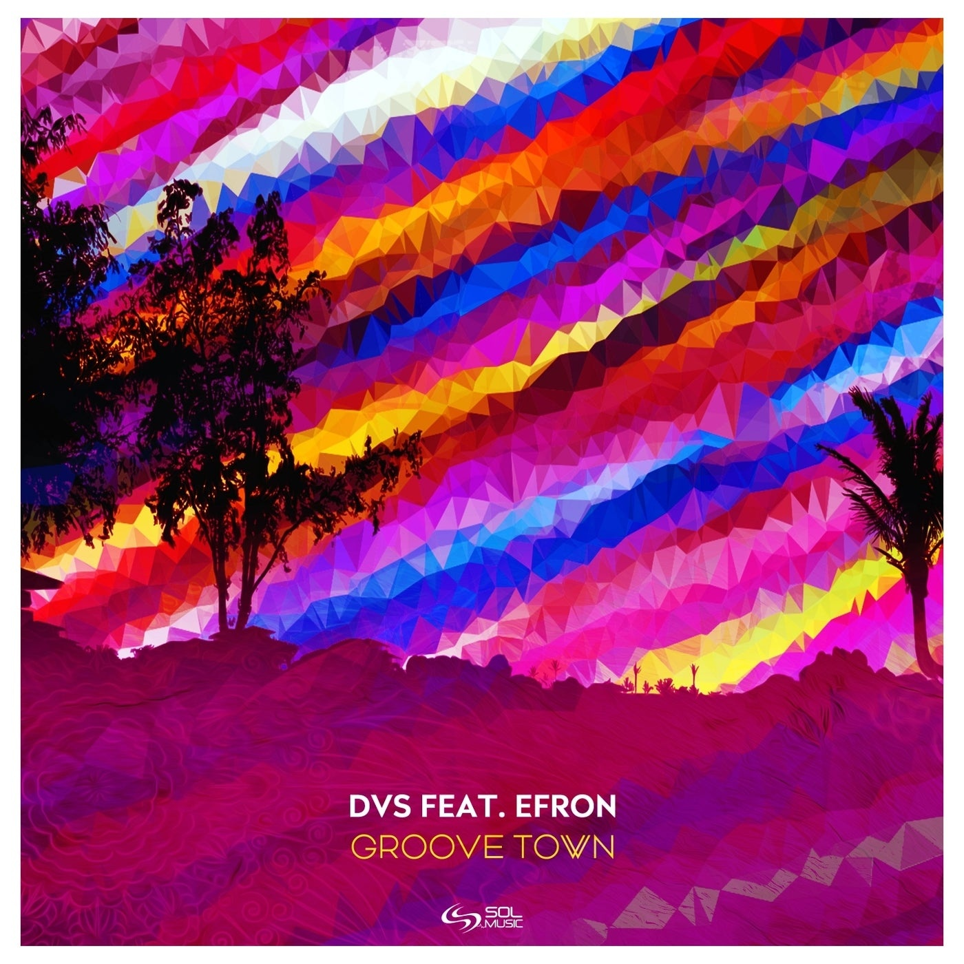 Cover - DVS, Efron - Groove Town Feat. EFRON (Original Mix)