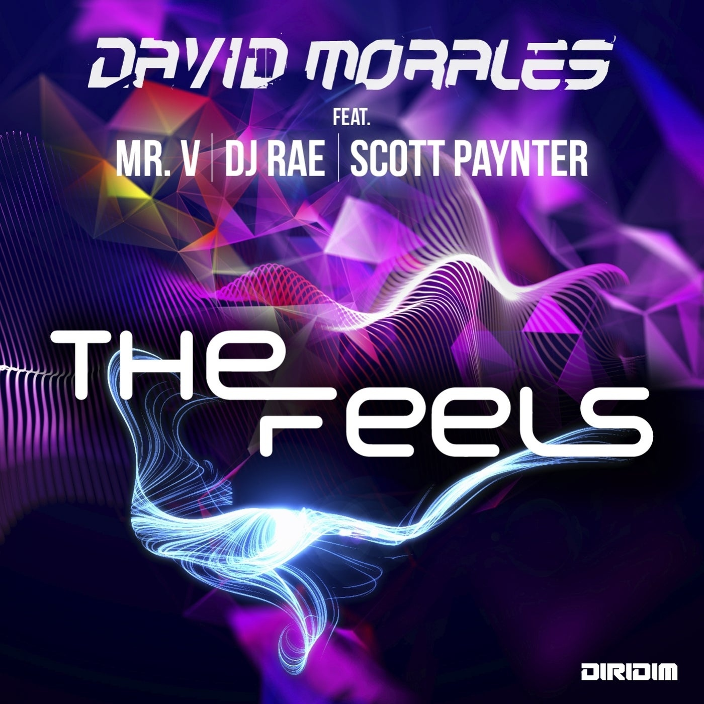 Cover - David Morales - The Feels feat. Mr. V, DJ Rae, Scott Paynter (Extended Mix)