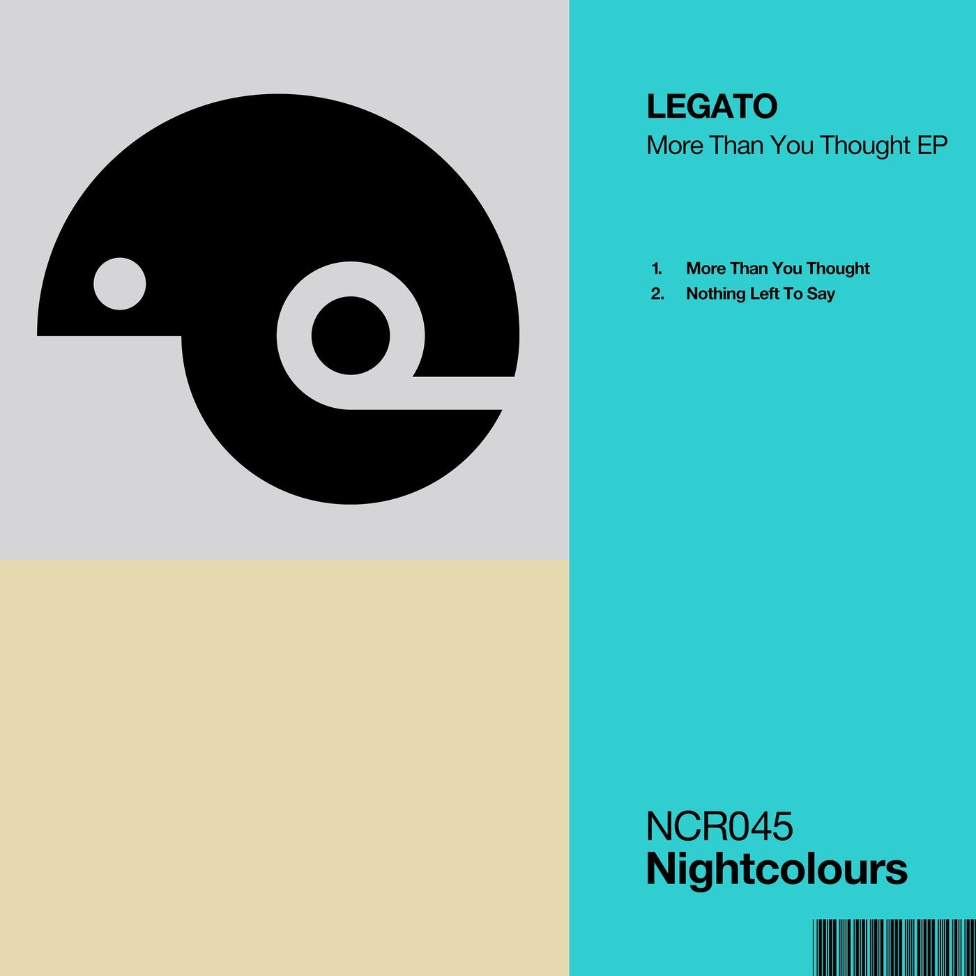 Cover - LEGATO (UK) - More Than You Thought (Original Mix)