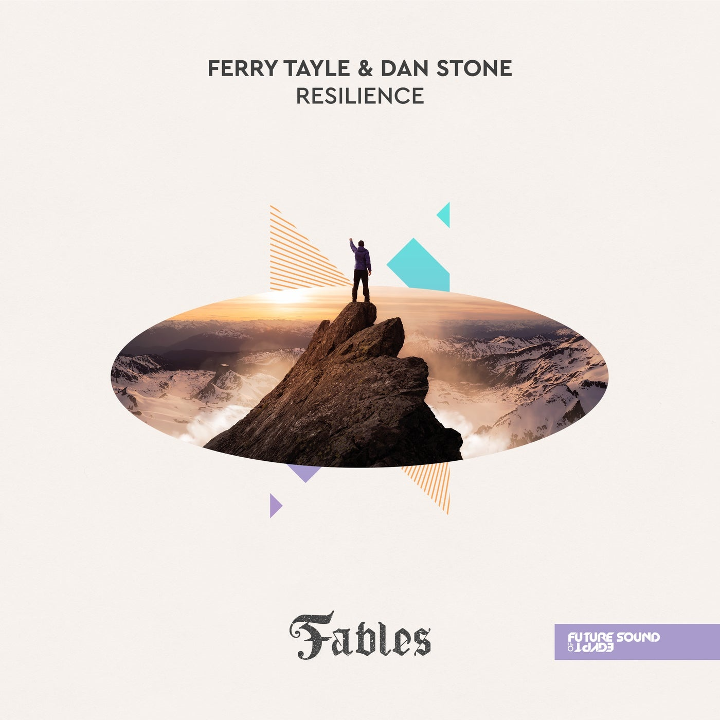 Cover - Dan Stone, Ferry Tayle - Resilience (Extended Mix)