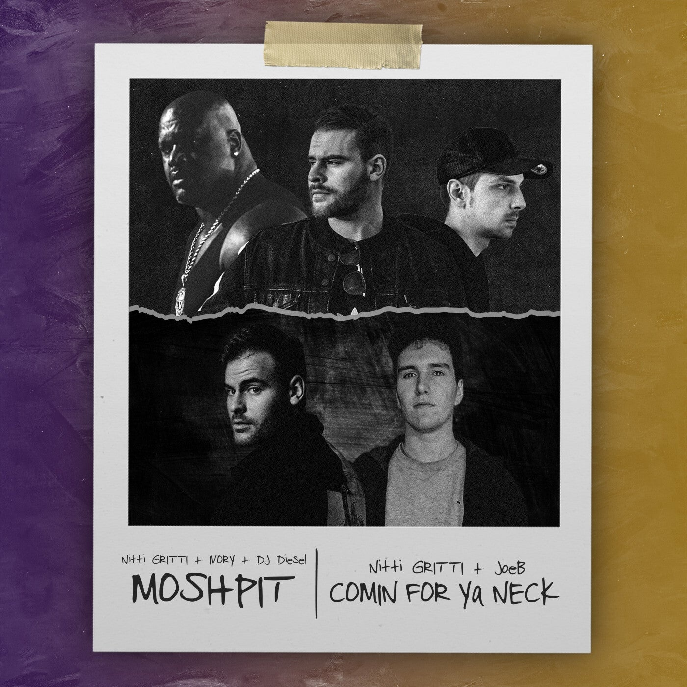 Cover - Ivory, Shaquille O'Neal, Nitti Gritti - Moshpit (Original Mix)
