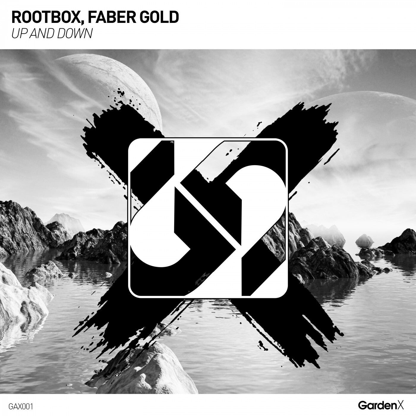 Cover - Rootbox, Faber Gold - Up And Down (club mix)