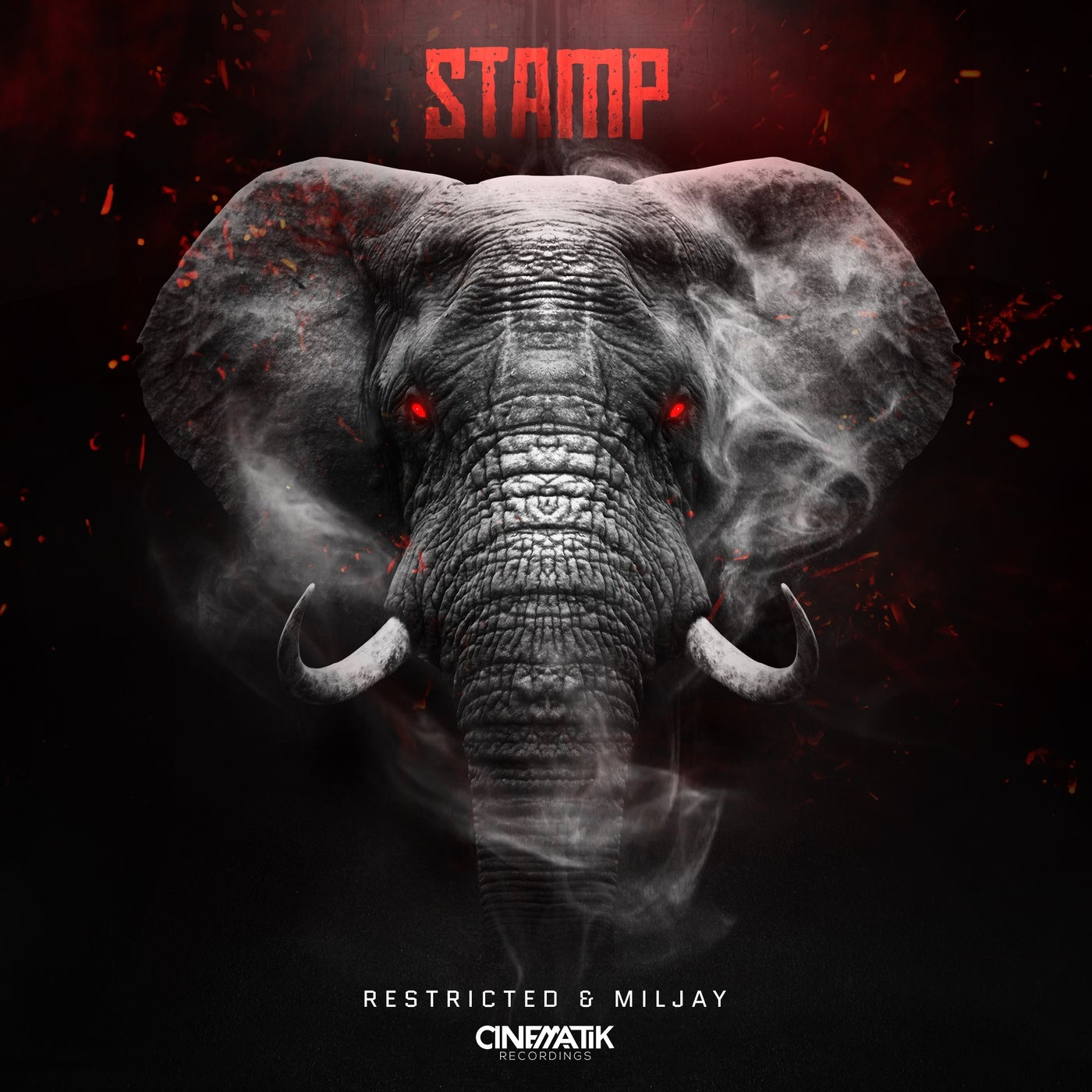 Cover - Miljay, Restricted - Stamp (Extended Mix)