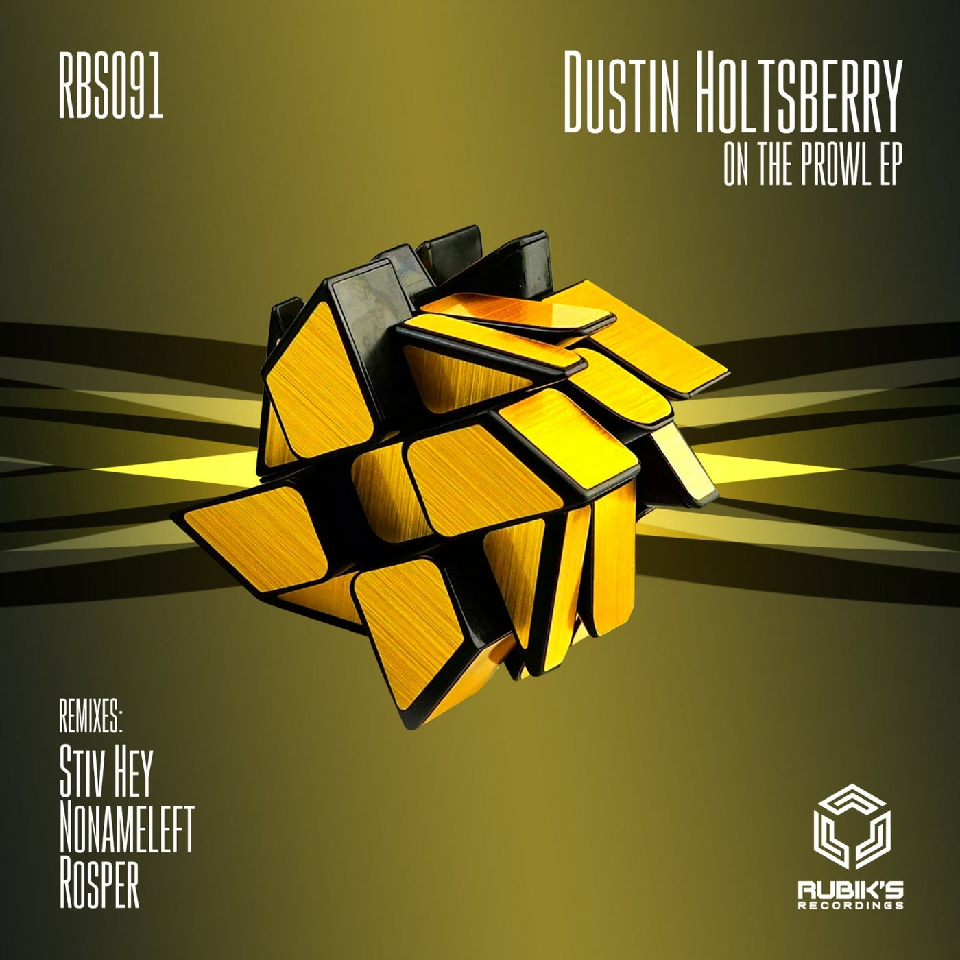 Cover - Dustin Holtsberry - On The Prowl (Original Mix)