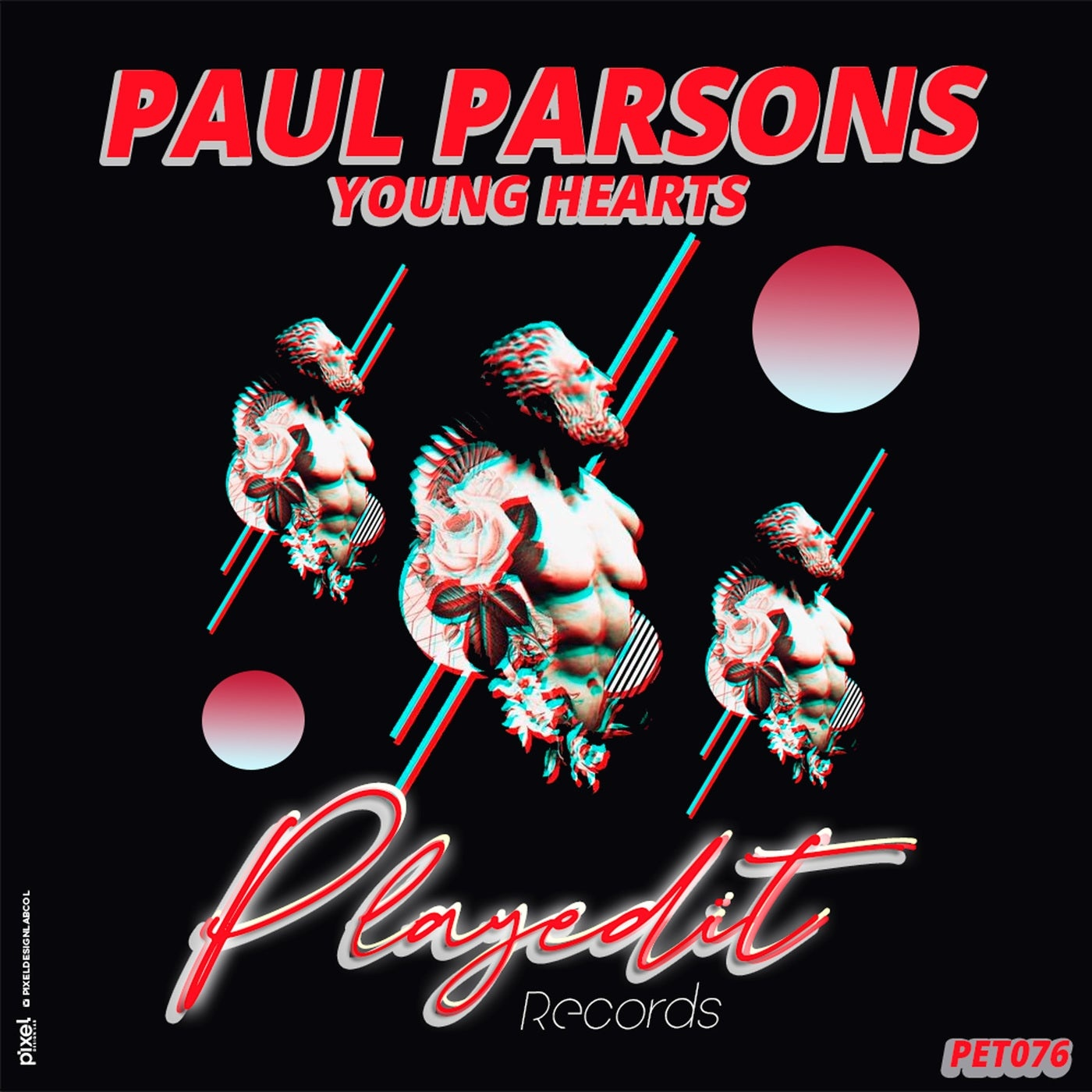 Cover - Paul Parsons - Young Hearts (Original Mix)