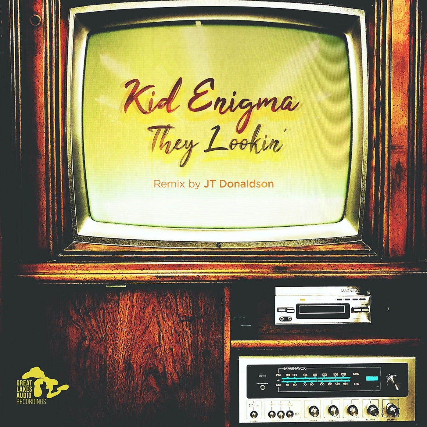 Cover - Kid Enigma - They Lookin' (Extended)