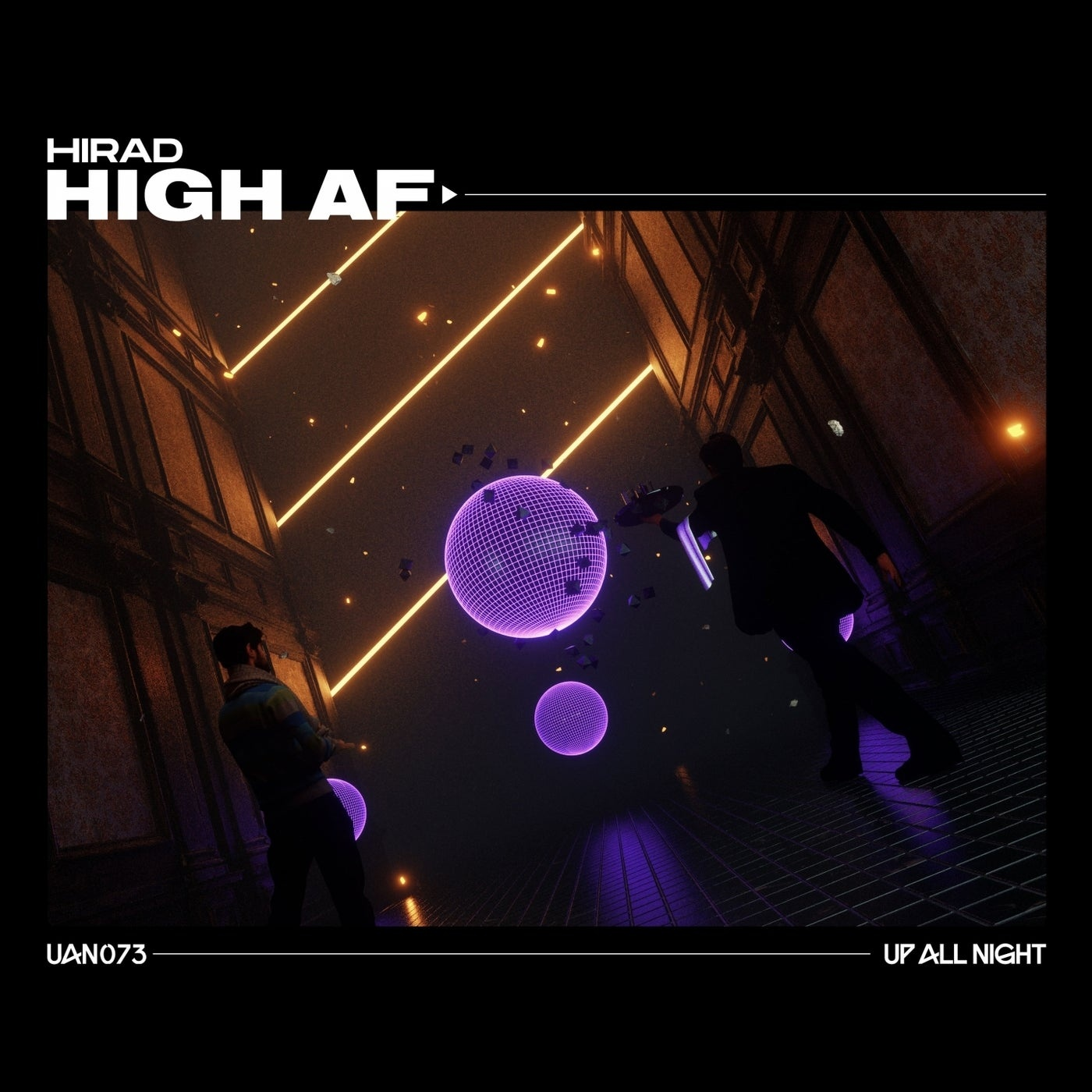 Cover - Hirad - High Af (Extended Mix)