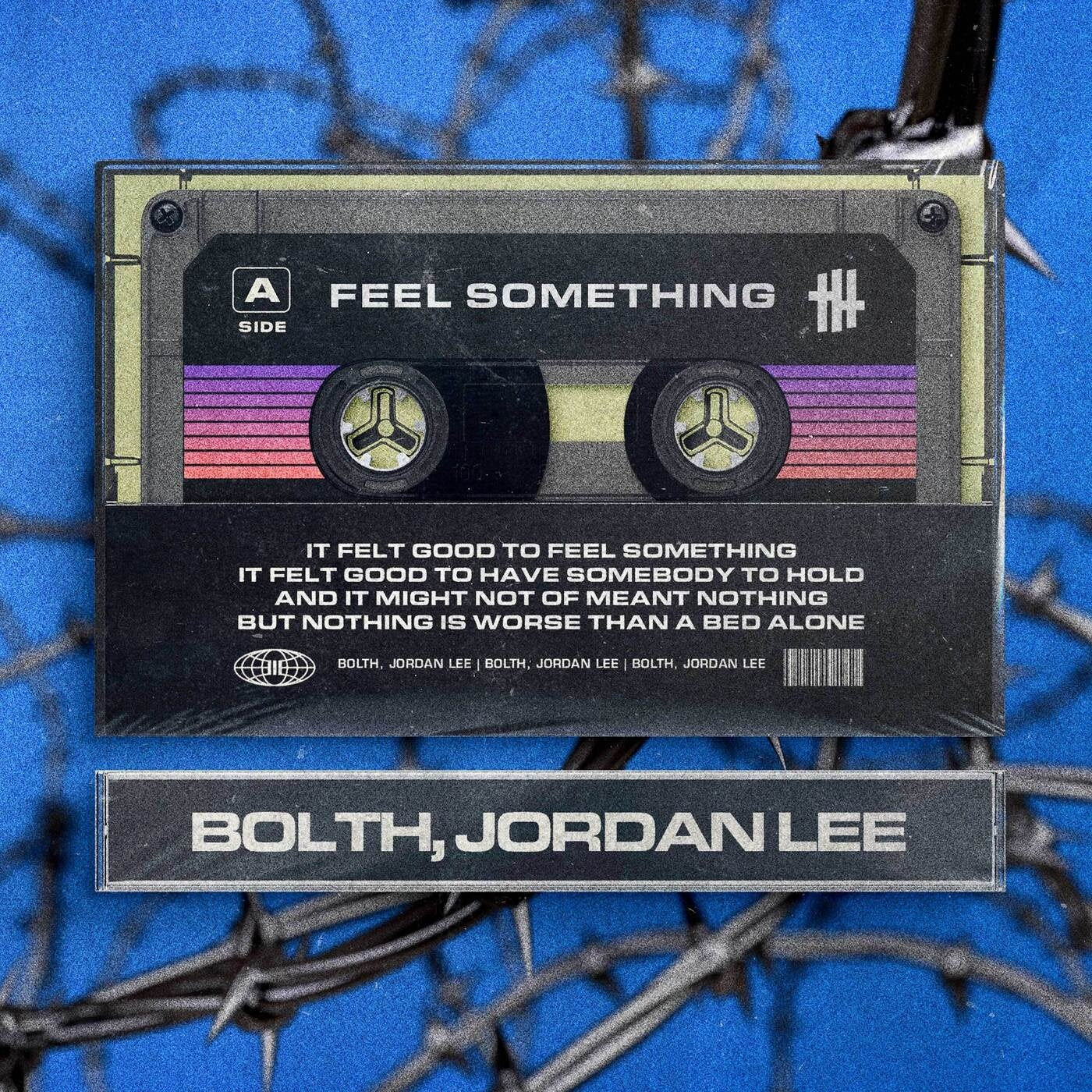 Cover - Jordan Lee, Bolth - Feel Something [Side-A] (Extended Mix)