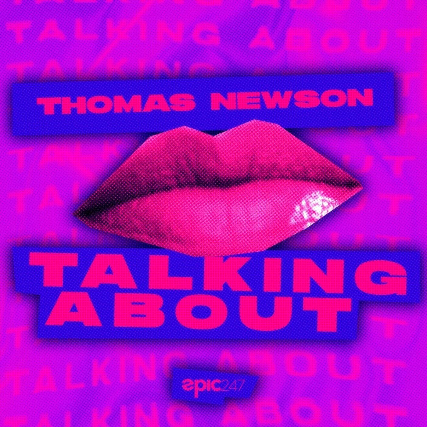 Cover - Thomas Newson - Talking About (Extended Mix)