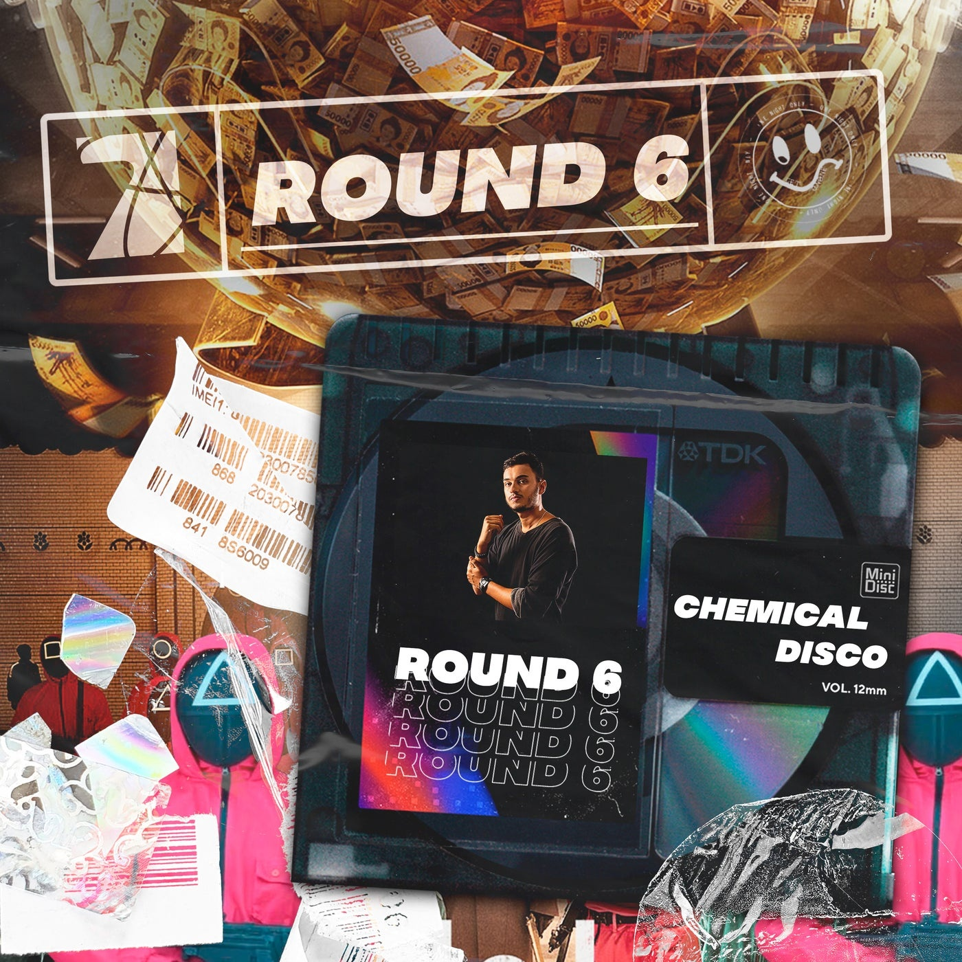 Cover - Chemical Disco, Cool 7rack - Round 6 (Squid Game) (Extended Mix)