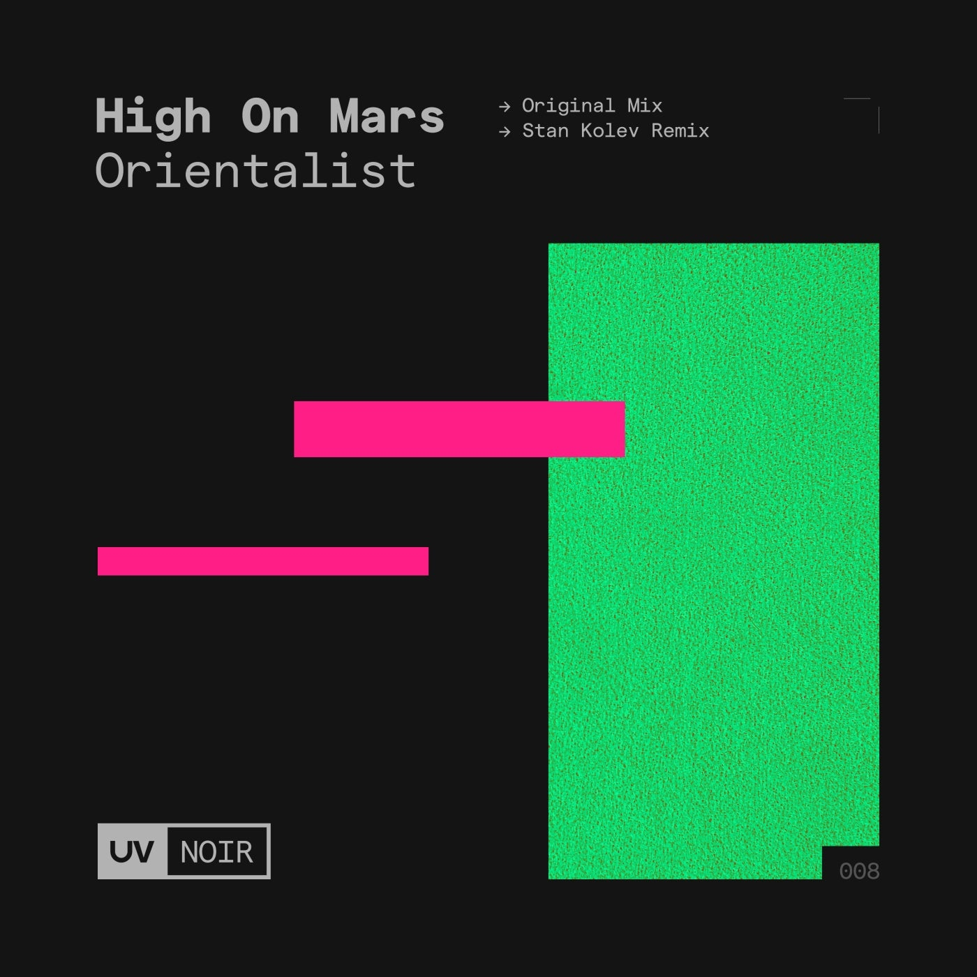 Cover - High On Mars - Orientalist (Stan Kolev Extended Remix)